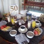 in-villa breakfast
