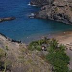 kleiner Strand bei abama