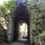 Massa Martana, Ponte Fonnaia an der röm. Via Flaminia, 220 v.Chr.