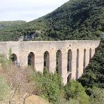 Spoleto, Talübergang Ponte delle Torri
