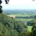 View from The National Trust's 'Bulkeley Woods'