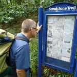 Trail information board