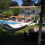 Maviay Hotel in garden hamak köşkü