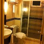[2 bedroom apt.] smaller, main bathroom