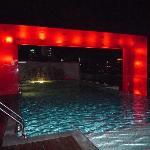 屋上のプール