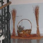 Tolle Dekoration im Stiegenhaus