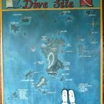 Your choice of dive sites