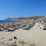 とても綺麗なビーチです。