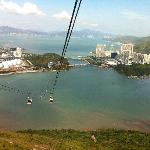 take cable car back to the town