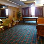hotel pool room