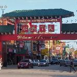 Entrance to main part of Chinatown