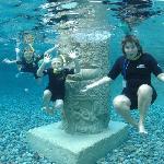 Underwater fun!