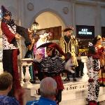 """""""Street"""" entertainers, Grand Canal Shoppes at the Venetian"""