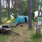 Travellers encampment