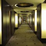 Couloir des chambres ...