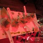 Scallops in Asparagus Puree