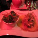 Tenderloin with Mustard Sauce and Salad