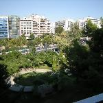 View from third floor room