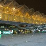 Gare de Oriente by night