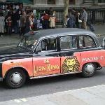 Lion King London Cab