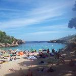 Cala Esmeralda - five mins from hotel
