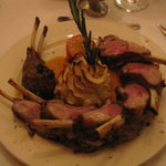 Famous rack of lamb