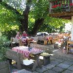 Outdoors at Cafe Kreuz