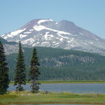 Sparks Lake - South Sister Mt.