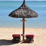 Farniente sur la plage principale