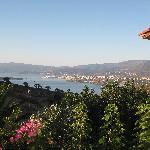 The view across to Aghios Nikolaos