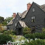 House of Seven Gables--inspiration for Hawthorne's book