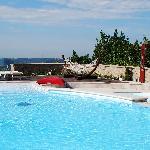 la piscina villa luna