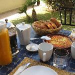 Breakfast with Berber omlet