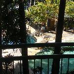 Balcony - pool view