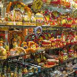 One of the many pottery shops