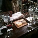 at the wine merchant