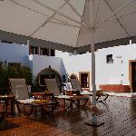 Petra Hotel | pool deck