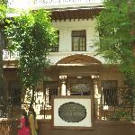 Gandhis Quartier während seiner 17 Jahre in Mumbai