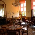 Room where we had breakfast