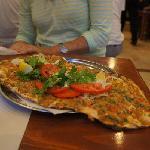 pizza arabic style