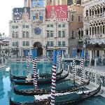 Outside Venetian Resort Hotel