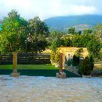 Terraza y Jardín Hotel Venta Juanilla