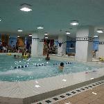 La piscine réservée aux familles...