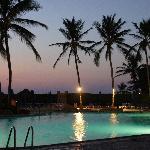 Pool at night - Torres Mazatlan