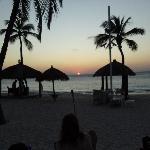 Sunset at Bucuti