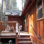 Our lodge at Evergreen