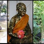 auf unserem Ausflug in Bangkok