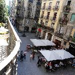 ROOM 4 - BALCONY VIEW TO OLLES´ SQUARE