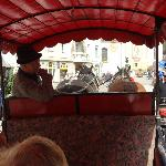 horse driven carriage ride was wonderful