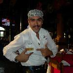 Our fabulous server, Fabian